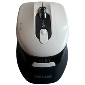 Rexus RX-109 Mouse Gaming Wireless Avenger (Putih)