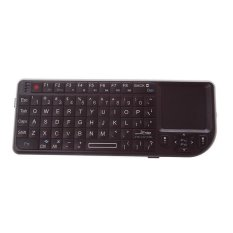 RGQ Bluetooth Wireless Mini Bluetooth Keyboard with Touch Pad (Black)
