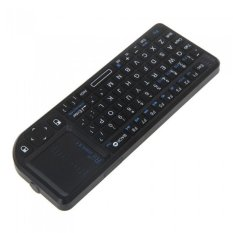 Rii® Mini X1 Handheld 2.4G Wireless Keyboard Touchpad Mouse For PC Notebook Smart TV Black