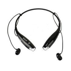Rio Bluetooth Stereo Headset Two Channel MP3 Music Headphone - HV-800 - Hitam