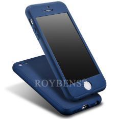 ... Casing Source · Full Body Cover Biru Dongker Source Hardcase Case 360 Iphone 6 6s Tanpa Bolongan Logo Apple