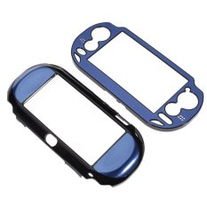 S & F Plastic Hard Case Cover For Sony PlayStation Vita PCH1000 Royal Blue