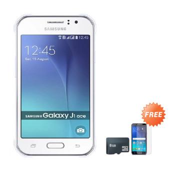 Samsung Galaxy J1 Ace 2016 J111 4G 8 GB White Free Anti Gores .