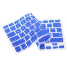 Sanwood For Apple Macbook Pro MAC 1.15 17 Air 13 Silicone Keyboard Cover Skin Dark Blue