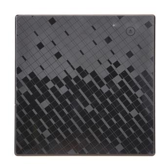 Sentuh ramping portabel USB 3.0 SATA Exteranal DVD RW alat aneh untuk Mac/laptop (hitam) - International
