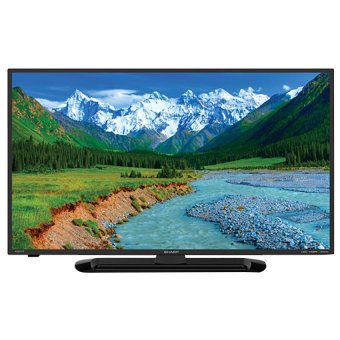 "Sharp 32"" 32LE265i LED TV LC - Hitam"