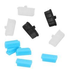 Silicone HDMI Port Hub Plug Cover Cap Anti-Dust Protector For Mac & Sony 5pcs