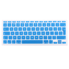 Silicone Housse Keyboard Clavier Protection P Macbook Mac Pro 1.15 17 EU Model (Blue)