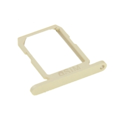 Single Card Tray For Samsung Galaxy S6 (Gold)