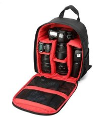 SLR Camera Bag Ultra - Light Outdoor Photography Camera Bag Waterproof Multi - Functional Male and Female Camera Backpack tas kamera Backpack Waterproof- intl