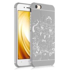 Soft Silicone Back Cover Case For VIVO Y53 2017 (Dragon Grey) - intl