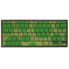 Soft Silicone Color Dots Keyboard Skin Cover Protector Film For Apple MacBook Pro 11.6 Inch Green
