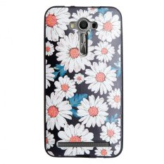 Soft TPU 3D Embossed Painting Cover Case For Asus Zenfone 2 Laser ZE550KL .
