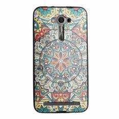 Soft TPU 3D Embossed Painting Cover Case For Asus Zenfone 2 Laser ZE550KL(Mystic compass