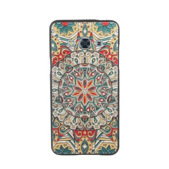 Jual Soft TPU 3D Embossed Painting Cover Case For Samsung Galaxy J3 Pro (Mystic Compass