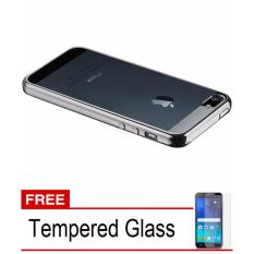 Asus Source Softcase Silicon Jelly Case List Shining Chrome for Apple iPhone 4 .