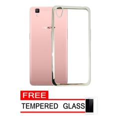 Oppo Source · F1s A59 Gold Free Ultrathin Gold Beli Online Source Softcase .