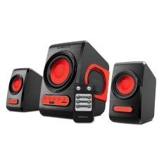 Sonicgear Quatro V USB 2.1 Speaker - Merah