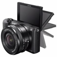 Sony Alpha A5100 Mirrorless Lensa Kit 16-55mm 24.3Megapixsel