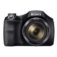 Sony DSC-H300 - 20.1 MP - 35x Optical Zoom - Hitam