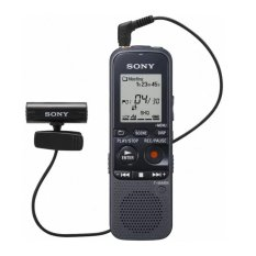 Sony ICD-PX333M PC Link Voice Recorder - MC Slot + Stereo Mic-Hitam