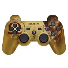 Sony Stick PS3 God Of War Ori Factory Recertified Wireless - Gold Kombinasi