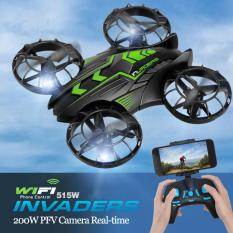 SP JXD 515W wifi fpv drone 2.4g 4ch WIFI real time transmition remote control helicopter Altitude Hode with 0.3MP HD camera