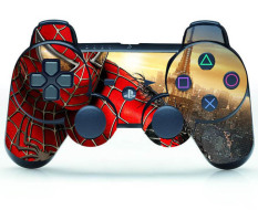 Spider Skin Sticker Parts For PS3 Controller Playstation 3