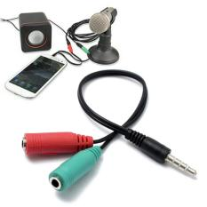 Sowikanshop Micro Usb & 35 Mm Mini Karaoke Microphone Mic Android Source Splitter .