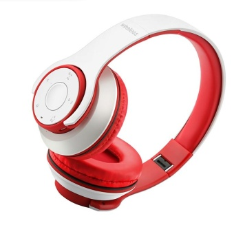 Sport Bluetooth Headwear Headphone FM 87.5-108MHZ Bass Stereo Headsets Earphone - intl