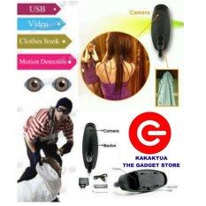 Spy Tec Kamera Pengintai Gantungan Baju - Cloth Hook Hidden Camera