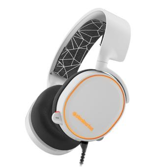 SteelSeries Arctis 5 HeadPhone Gaming - White