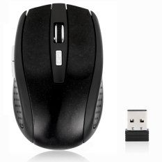 Sunwonder 2.4GHz Cordless Wireless Optical USB Mouse Mice For Laptop PC Computer + USB Receiver (Black)