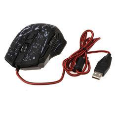 Sunwonder 5500DPIbLED USB Optical Gaming Mouse (Black)