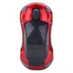 Sunwonder New 2.4G Car Shape Wireless Optical Mouse Mice For Laptop PC USB Receiver (Intl)