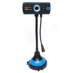 Super Webcam with Microphone and Night Vision - Hitam