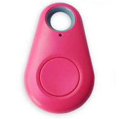 SuperCart Bluetooth Tracer GPS Locator (Pink) (Intl)