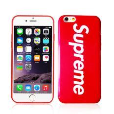 Supreme Red Rubber Case Iphone 6plus/6splus