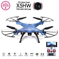 SYMA DRONE X5HW BLUE [Hold & Wifi/ Live View /HD 2MP]