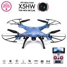 SYMA DRONE X5HW BLUE [Hold & Wifi/ Live View /HD 2MP]