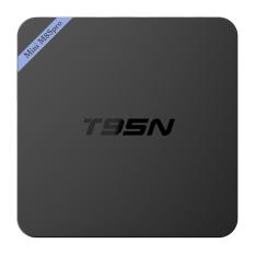 T95N-Mini M8Spro 4K S905X Android 6.0 Smart TV Player -Black (EU Plug) - Intl