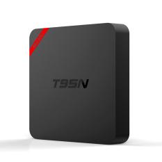 T95N Mini MX + Smart Android TV Box Android 5.1 Amlogic S905 Quad-Core 64 Bit KODI 16.0 XBMC UHD 4.1G / 8G Mini PC WiFi & LAN H.265 Media Player EU Plug - Intl