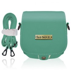 Takashi Protective PU Leather Bag With Strap For Fujifilm Instax Mini 8 Instant Camera (Mint)
