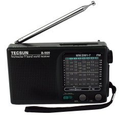 Tecsun R-909 Radio FM / AM / SW World Band Receiver Portable FM Radio DX / LOCAL Sensitivity Receiver
