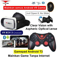 Terios VR Box 2 with Magnetic Button + Gamepad Android T3