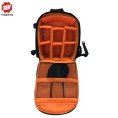 Tigernu Popular Waterproof Camera Backpack 6007 (Black With Orange) - Intl