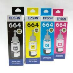 TINTA EPSON 664 ORIGINAL SET 4 WARNA
