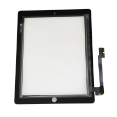 Touch Screen Glass Front Panel Digitizer Repair Parts For New IPad 3 Black (Intl)