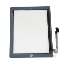 Touch Screen Glass Front Panel Digitizer Repair Parts For New IPad 3 White (Intl)