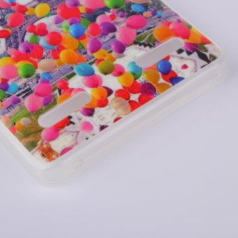 Tower And BallonPatterned IMD TPU Back Protective Shell Cover For Lenovo A6000 Intl .
